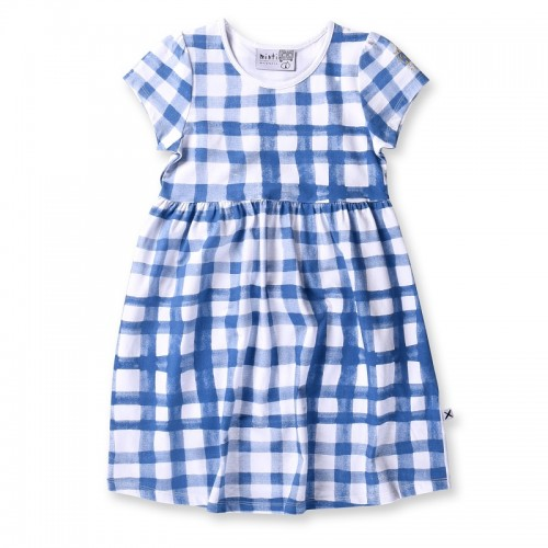 Minti Painted Gingham Dress